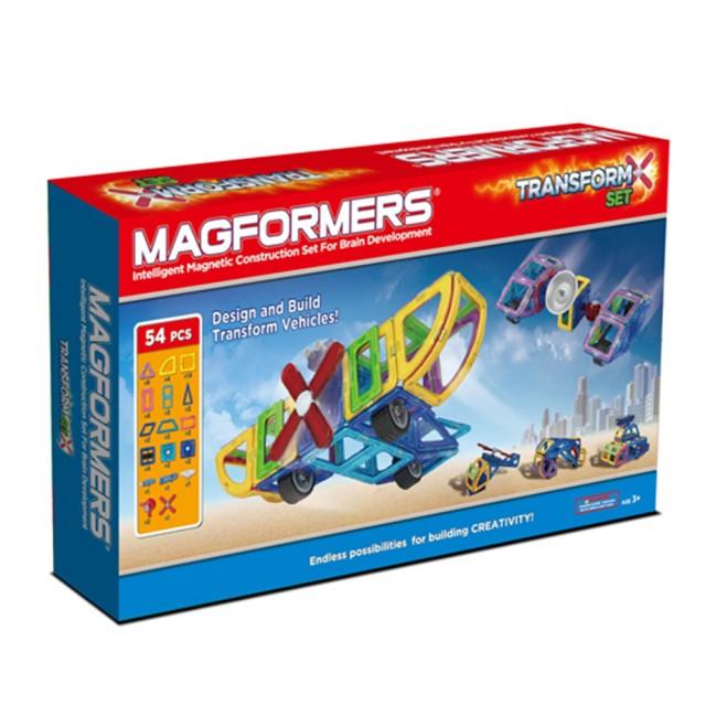 ~Magformers 磁性建構片~變形組54pcs ACT05842