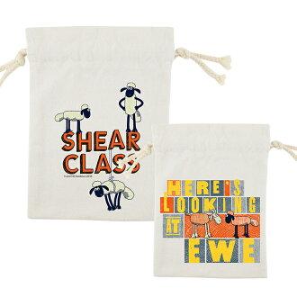 笑笑羊正版授權(Shaun The Sheep) - 束口袋:【 Shear Class 】