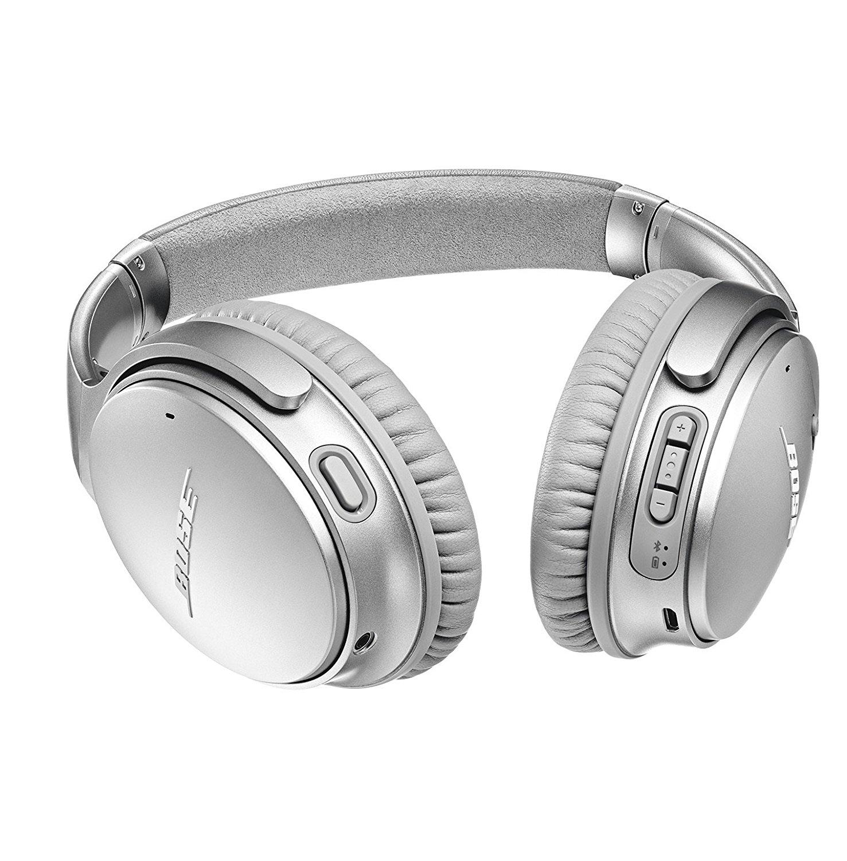 25893d58ada Bose QuietComfort 35 (Series II) Wireless Headphones, Noise Cancelling -  Silver 2
