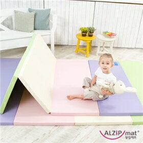 韓國【Alzipmat】繽紛遊戲墊-糖心色系 (SE)(160x130x4cm)