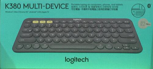 LOGITECH羅技 K380 多功能藍牙無線鍵盤 繁體 三個藍牙裝置可切換使用 (Win/Android/iOS)
