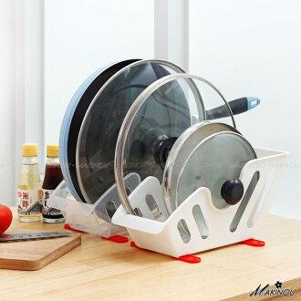 日本MAKINOU 收納櫃|防傾倒鍋蓋收納瀝水架-台灣製|碗筷架餐具碗盤架鍋架置物架收納架 牧野丁丁MAKINOU