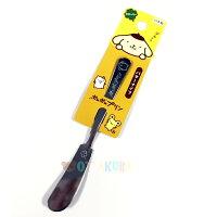 布丁狗周邊商品推薦到日本製布丁狗 PomPomPurin不鏽鋼奶油刀 抹刀 果醬抹刀  14.3cm  日本進口正版 173072
