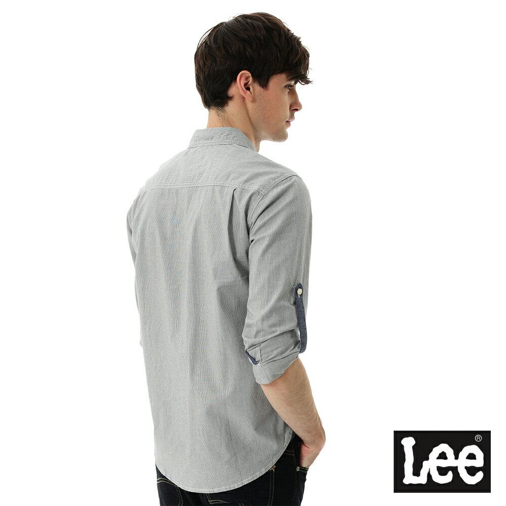 Lee 條紋長袖襯衫 4