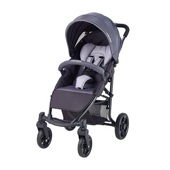 Merissa美瑞莎EX-19低調奢華跨界RV嬰兒手推車-鐵灰【悅兒園婦幼生活館】