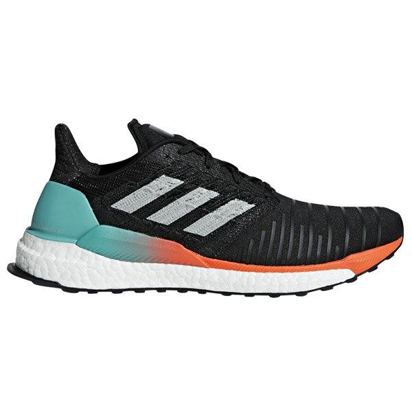 【ADIDAS】SOLAR BOOST M 慢跑鞋 运动鞋 男鞋 黑色 -CQ3168