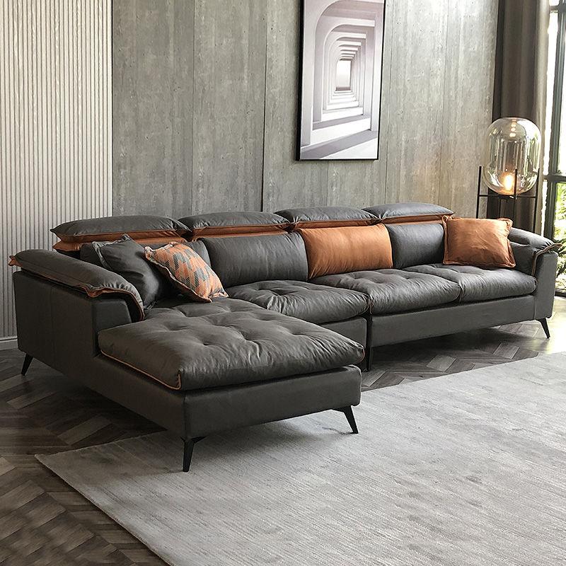 布藝沙發客廳小戶型沙發整裝大戶型北歐簡約現代輕奢科技布沙發套