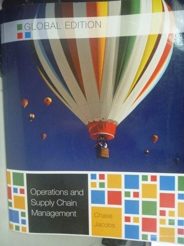 【書寶二手書T5/大學商學_ZHS】Operations and Supply Chain