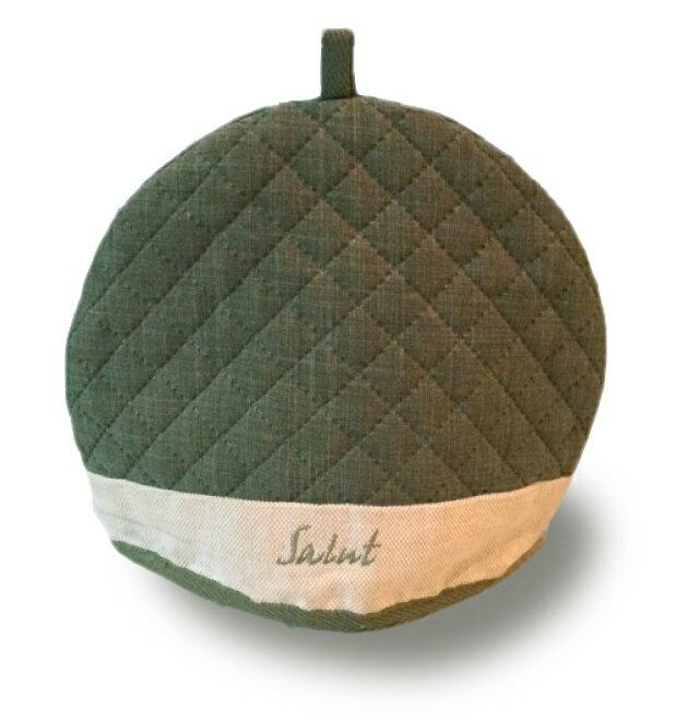 【下午茶不可式缺配件】灑綠經典茶壺保溫罩(寛25cm, 高21cm)