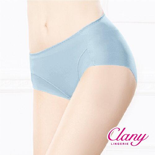 【可蘭霓Clany】健康抑菌竹炭中腰M-XL無痕內褲 理智藍 2156-55 6