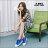 格子舖*【KB808】MIT台灣製 青春校園可愛星星撞色條紋 高筒綁帶帆布鞋 2色 1