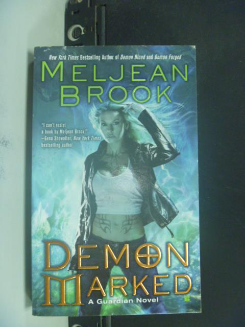 【書寶二手書T1/原文小說_GRX】Demon Marked_?Meljean Brook