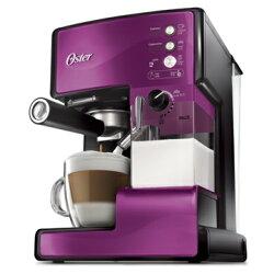 美國OSTER-奶泡大師義式咖啡機PRO升級版 送 電動磨豆機