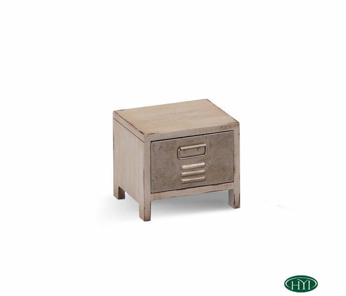 【HYI家居生活館】復刻手作收納箱(仿古白)14.6x12x21.6cm《MIT手工製作 全館免運費》