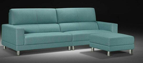 【尚品傢俱】960-01羅斯貝L型耐磨皮獨立筒沙發