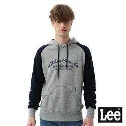 Lee  HD LEE連帽厚T恤/RG  -男款-灰