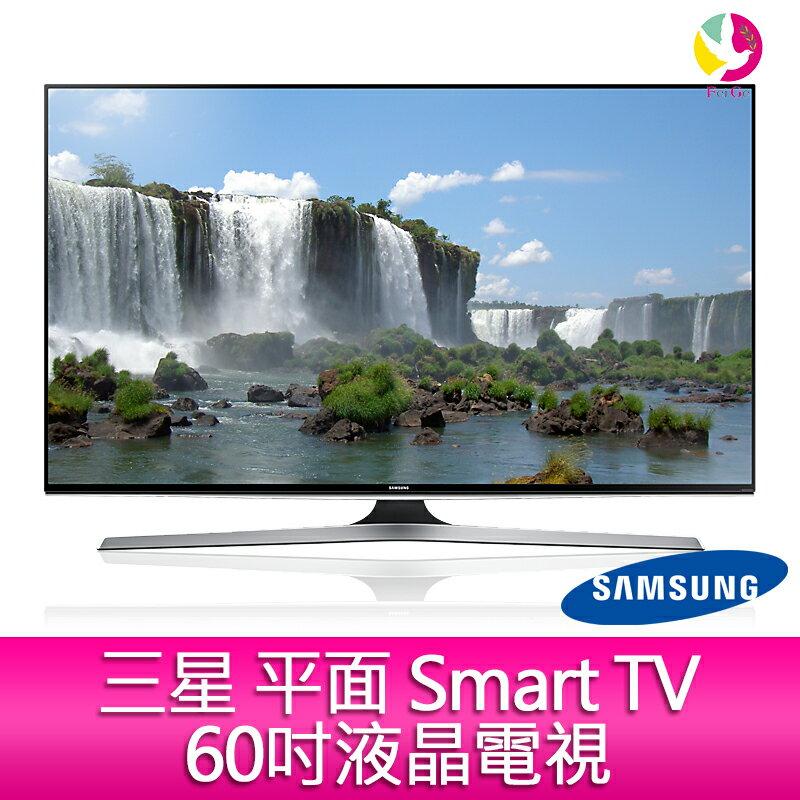 12期0利率 三星 SAMSUNG FHD 平面 Smart TV 60吋液晶電視 UA60J6200AWXZW (公司貨+免運費)