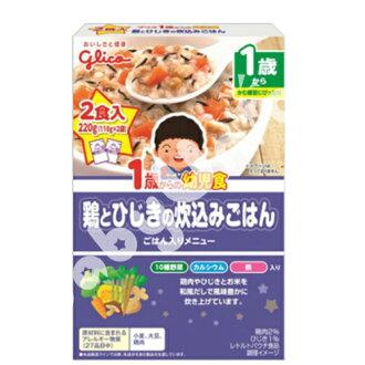 Glico固力果 - 雞肉蔬菜燴飯 幼兒食品調理包