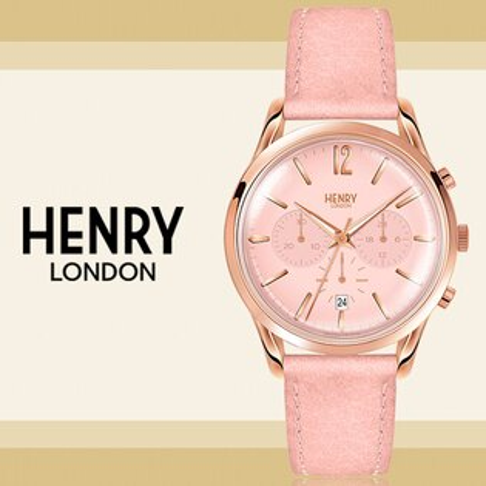 HenryLondon英國前衛品牌SHOREDITCH計時腕錶HL39-CS-0158公司貨