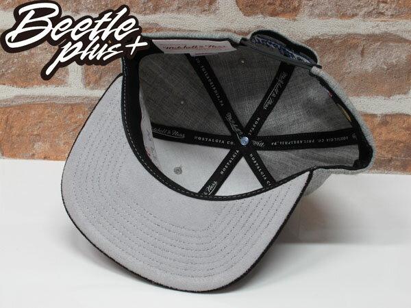 MITCHELL&NESS NBA WARRIORS 金州 勇士 CURRY 灰黑 麂皮 SNAPBACK 帽 總冠軍 1