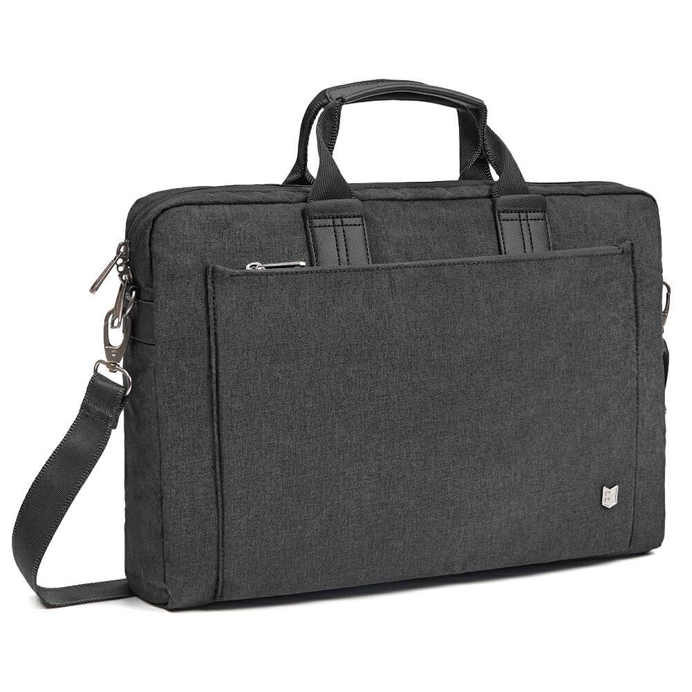 bf54e9135ca6 Evecase City 15 - 15.6 inch Laptop Briefcase Messenger Bag, Professional  Water Resistant Business Laptop Shoulder bag for Apple ASUS Acer Samsung  Dell ...