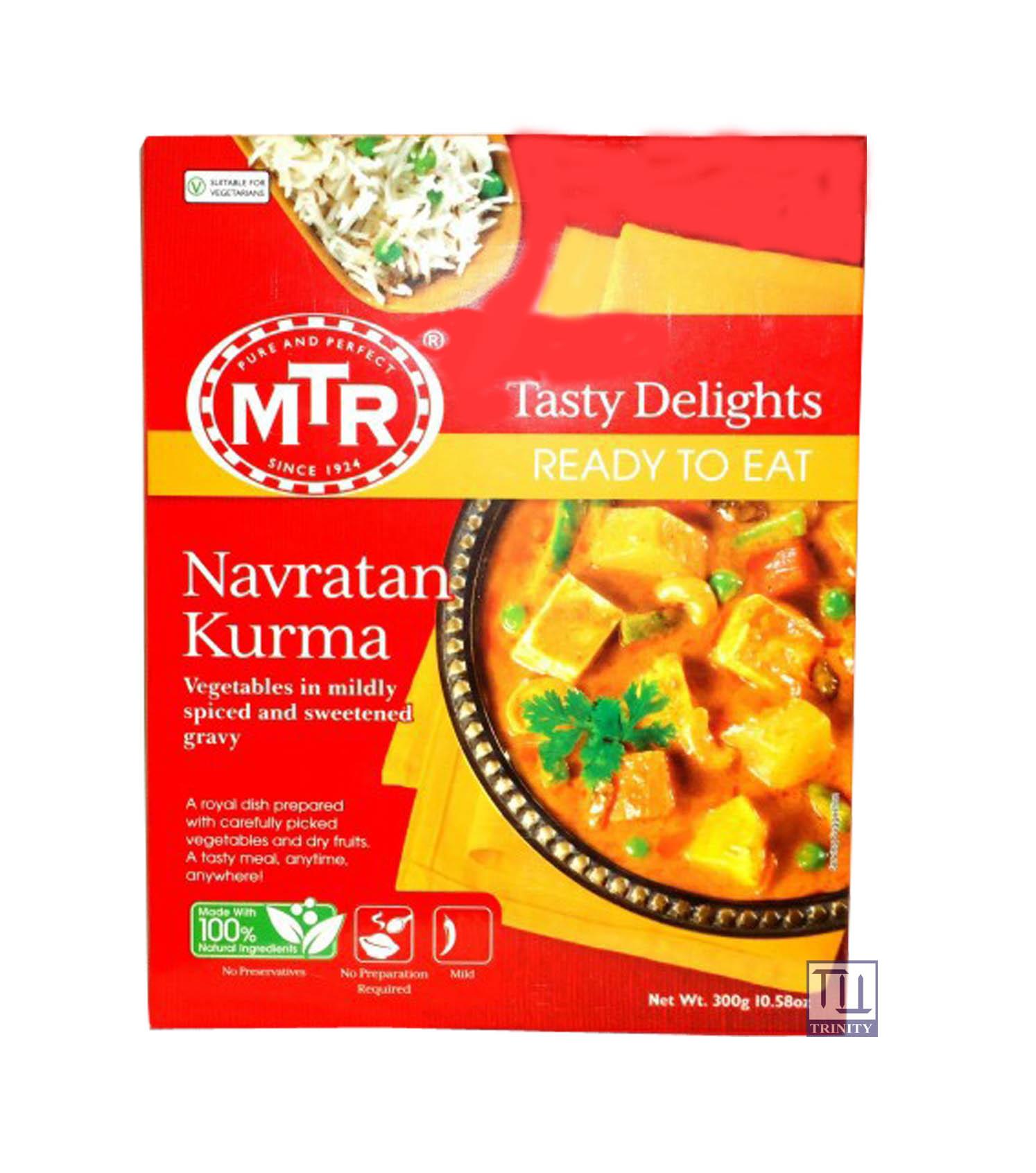 Mtr Navarathan Kurma 印度蔬菜堅果即食調理包