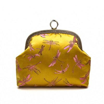 晚宴包錢包-精美蜻蜓高貴手拿女包包73sk32【獨家進口】【米蘭精品】