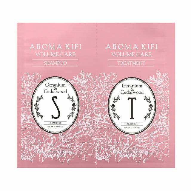 《日本製》AROMA KIFI 植粹蓬鬆洗護體驗組 - 限時優惠好康折扣