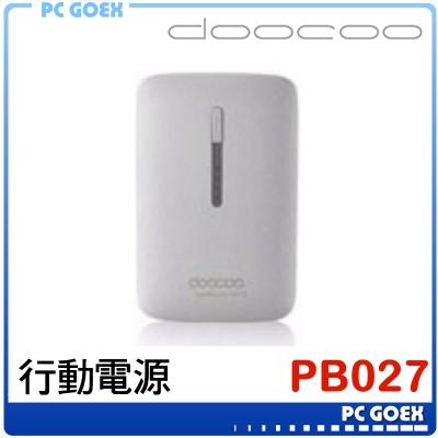 doocoo PB-027 灰 行動電源 iplam3 2Gen 9000mAh ☆pcgoex 軒揚☆