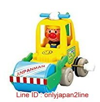 【真愛日本】16123000005發條車玩具3款-AP壓路機   電視卡通 麵包超人 細菌人 兒童玩具 正品