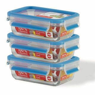 德國EMSA 玻璃保鮮盒(514170)-0.5L(三件組)