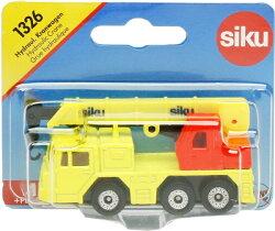(卡司 正版現貨) 德國小汽車 SIKU 吊車 SU1326 兒童禮物 模型車 玩具車
