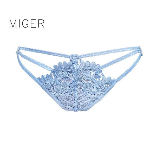 ^~MIGER密格內衣^~依戀中低腰三角內褲~共有兩色 ~ 製~ ^(編號:6872^)