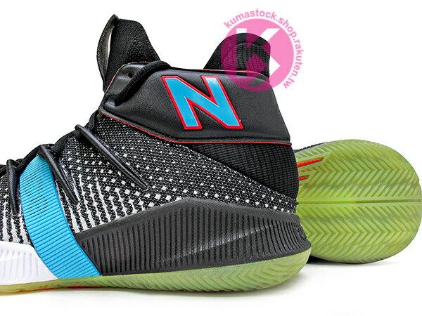 2019 最新 NBA 總冠軍 Kawhi Leonard 強力代言 NEW BALANCE OMN1S 黑灰白藍 全腳掌的 FUELCELL 緩震科技 MVP 籃球鞋 紐巴倫 小可愛 (BBOMNXBS) 1219NBA 3