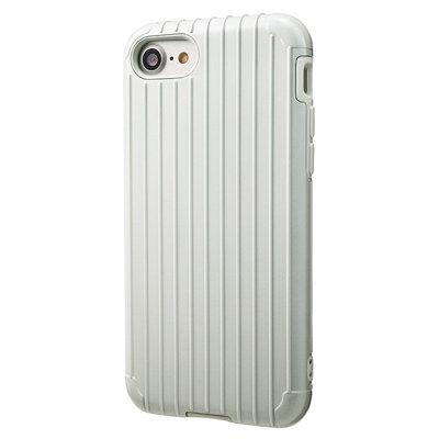 日本GRAMAS iPhone7 旅行箱雙層防護,卡片/吊孔防摔手機殼(送Apple價值129元充電線一條)