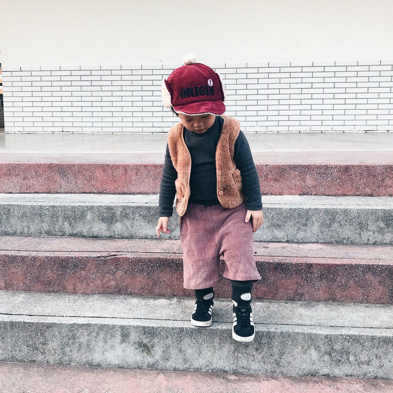 小萌毛絨開扣背心 內搭 單穿 中性款 夾克 外套 背心 橘魔法 男童 女童 現貨 兒童 童裝【p0061196258356】 7