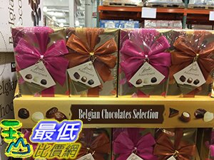 [106限時限量促銷] COSCO HAMLET BELGIAN CHOCOLATE ASSORTED 比利時巧克力精選250G*2PK C115260