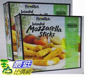 [COSCO代購如果售完謹致歉意]W51621FarmRich冷凍摩佐拉乳酪條2.26KG(兩入裝)