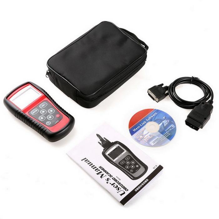 OBD2 OBDII EOBD Scanner Car Code Reader Data Tester Scan Diagnostic Tool 1
