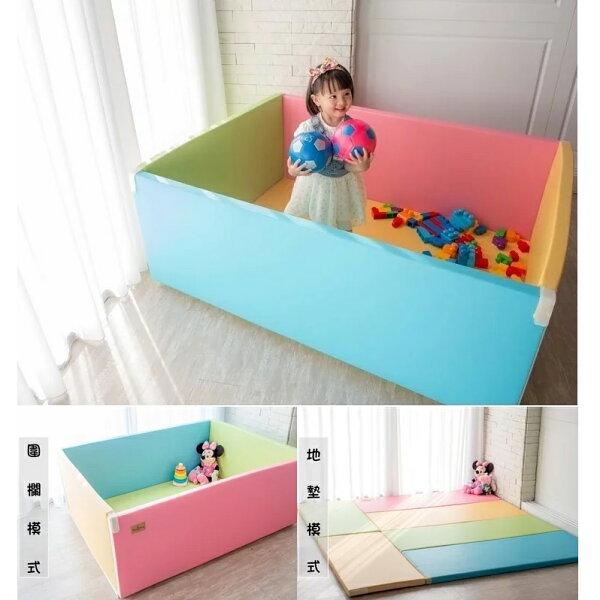 韓國【小鹿蔓蔓MangMang】兒童遊戲城堡圍欄