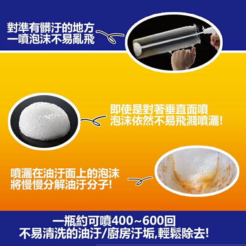 日本 花王 CUCUTE CLEAR 無死角泡沫噴霧洗碗精 300ml  (橘香)
