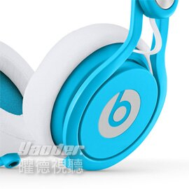 【曜德視聽】Beats Mixr 霓虹藍 專業DJ款 支援通話 ★免運★送BeatsT恤★