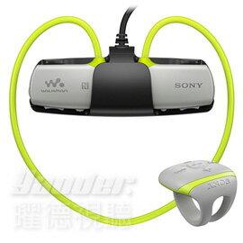 【曜德視聽】SONY NWZ-WS613 黃色 防水無線隨身聽 4GB 藍芽支援手機通話 ★免運★送收納盒+耳塞★