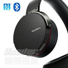 【曜德★送收納袋】SONY MDR-XB950BT 黑色 BASS BOOST 重低音強化 NFC 無線藍芽 ★免運★