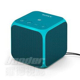 【曜德視聽★買就送好禮】SONY SRS-X11 帥勁藍 NFC 藍芽方塊喇叭 免持通話 ★免運★送收納袋+專用攜行包