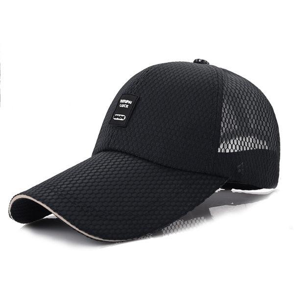 PS Mall 大簷遮陽帽11cm戶外網帽子【G1007】 2