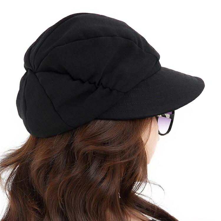 遮陽帽 夏季遮陽帽子女士折疊韓版 春夏天防曬休閒百搭時尚大沿太陽帽773