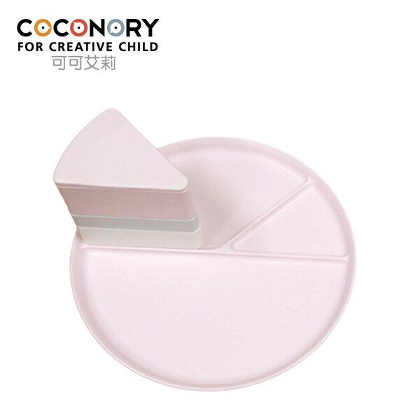 YODEE 優迪嚴選:COCONORY韓國可可艾利蛋糕造型餐盤組-甜蜜粉