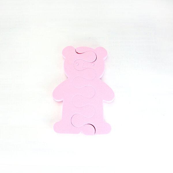 HNC 美麗生活館:粉紅小熊分隔棉