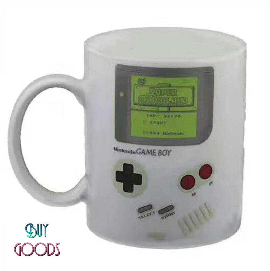 創意復古遊戲機造型馬克杯 熱感應變色馬克杯